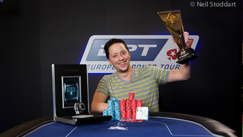 European Poker Tour £10,000 High Roller: Jason Lavallee is Victorious