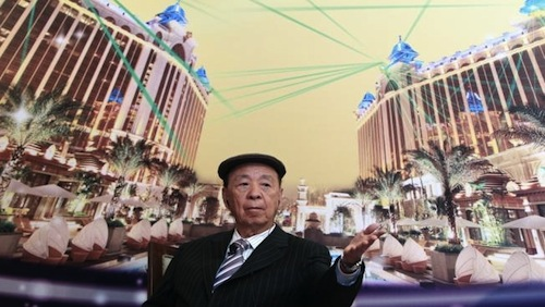 Galaxy founder Lui Che-Woo now Asia's richest man