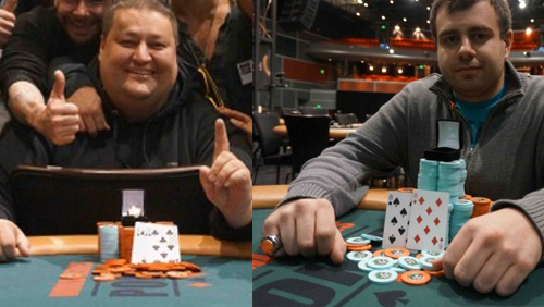 World Series of Poker Circuit Rings For Michael Oshana and Kevin Meeusen