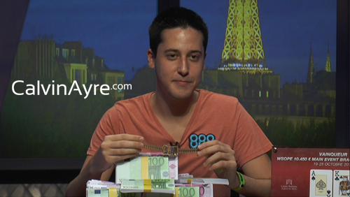 World Series of Poker Europe (WSOPE) Main Event: Adrian Mateos is the Champion