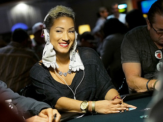 World Poker Tour Caribbean: Ebony Kenney Leads Going Into Day 2
