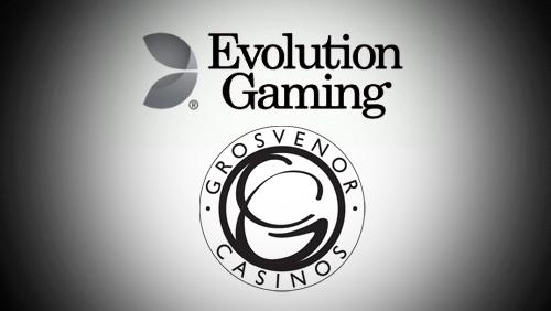 Evolution Gaming Expand the Grosvenor Casino Live Casino World