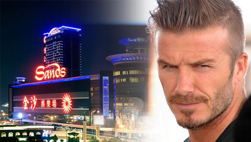 Las Vegas Sands signs cross-promotion deal with David Beckham