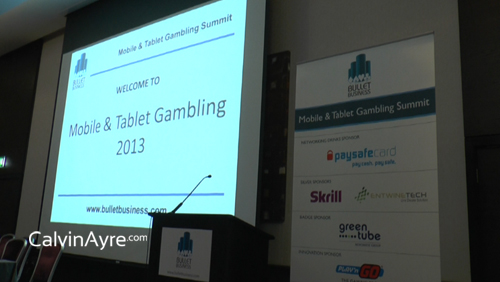 Mobile and Tablet Gambling Summit 2013 Day 1 Recap