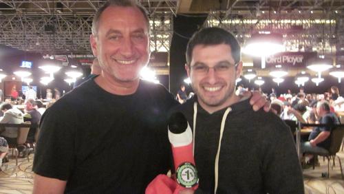 Phil Galfond & his dad Glenn at the 2011 WSOP ME