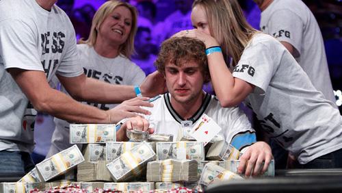 2013 WSOP Main Event: Ryan Riess 2013 WSOP Champion