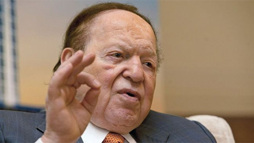 Sheldon Adelson Takes The Offensive Against Online Gambling