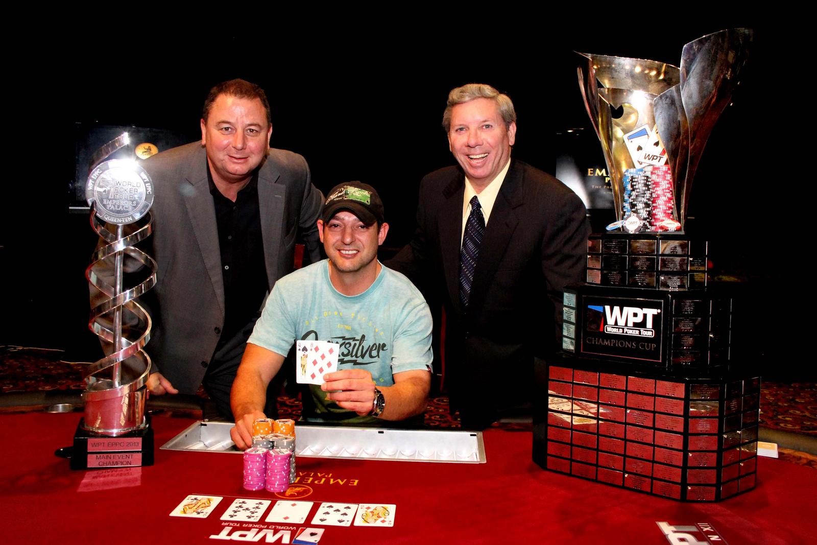 WPT Emperors Palace Poker Classic: Amateur Daniel Brits Takes The Title