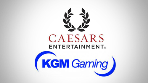 Caesars Interactive Entertainment and KGM Gaming Ink Deal