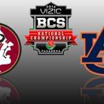 BCS Championship Preview: No. 1 Florida State Seminole vs No. 2 Auburn Tigers