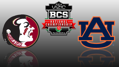 Online sportsbooks favor Florida State over Auburn in national title game
