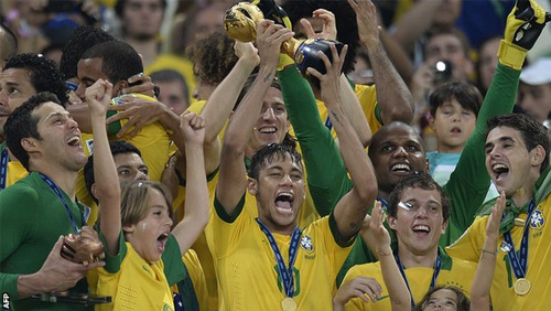 Online sportsbooks favor Brazil to lift World Cup trophy in 2014