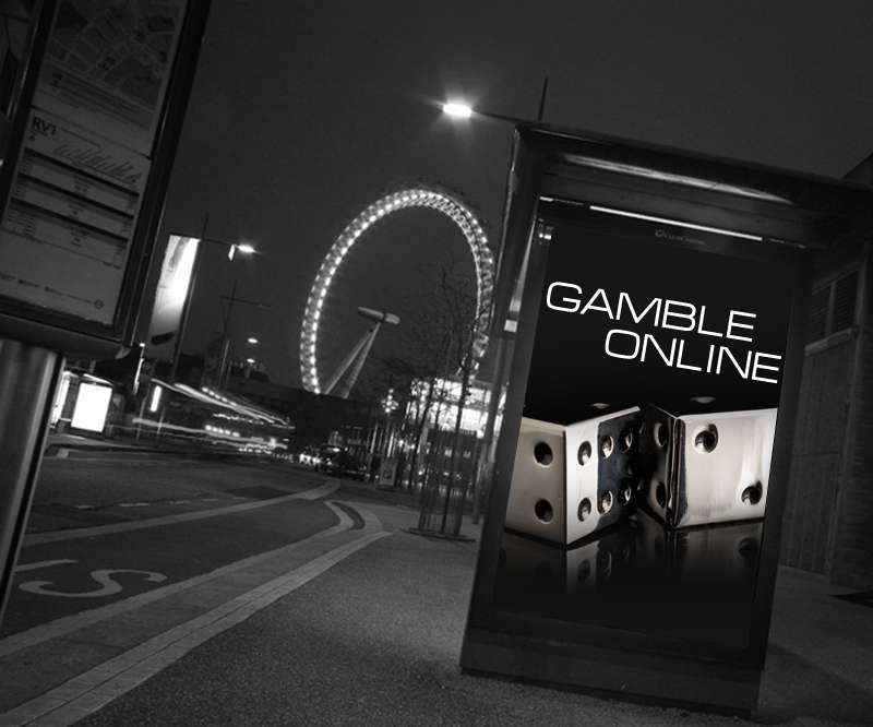 Online gambling ads