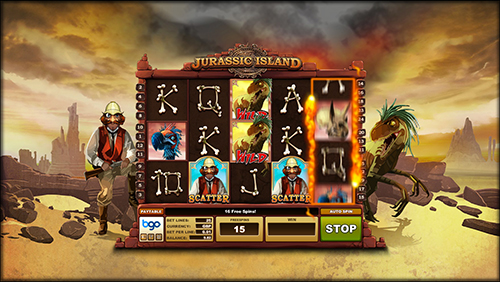 Bgo Entertainment launches first in-house produced slot machine Jurassic Island and completesAlderney move.