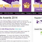 CalvinAyre.com has signed up as a media partner for the iGB Affiliate Awards 2014