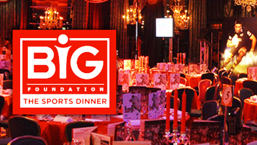 The BiG Sports Dinner promises a night of fun and good times for a cause