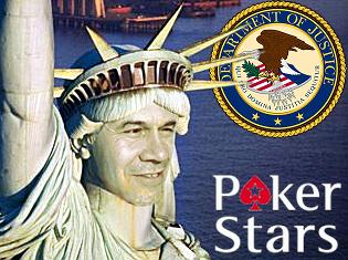 Pokerstars justice department