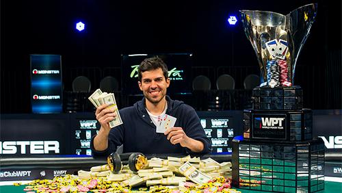 Anthony Merulla Wins the WPT Winter Borgata Poker Open Main Event