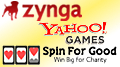 Zynga insist real-money gambling no priority; Spin For Good social slot charity