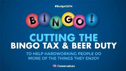 'Beer and Bingo' Row Breaks Out of 2014 UK Budget