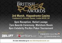 British Poker Awards invite