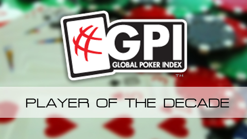 The GPI Player of the Decade: Who was Number 10?