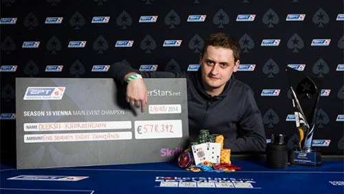 Oleksii Khoroshenin Wins the EPT Vienna Main Event