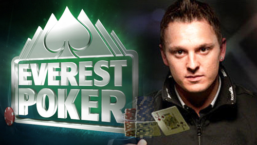 Sam Trickett Signs For Everest Poker