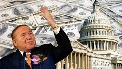 Sheldon Adelson's Money Gets Anti Gambling Bill to Congress