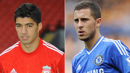 Luis Suarez and Eden Hazard Headline the PFA Awards