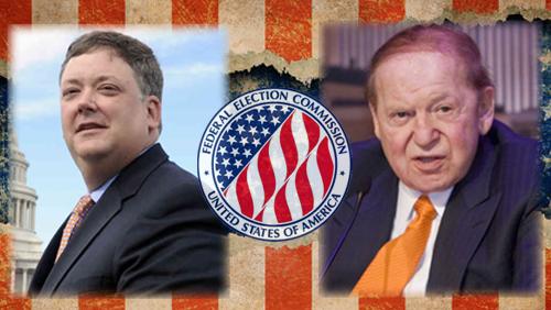 The Red Wire: McCutcheon vs. FEC, Adelson vs. Democracy