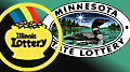 Illinois Lottery's online sales turn two; Minnesota online scratchers under fire