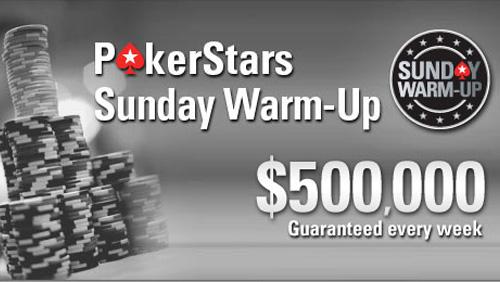 PokerStars Sunday Warm Up Cock Up Creates Huge Overlay