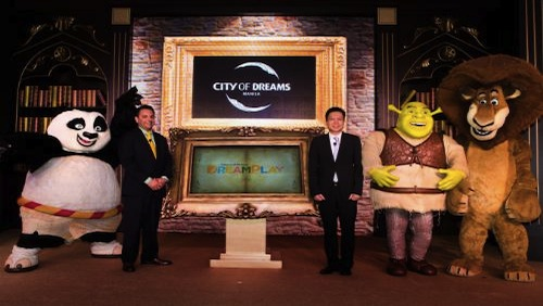 Melco Crown Philippines DreamWorks Characters