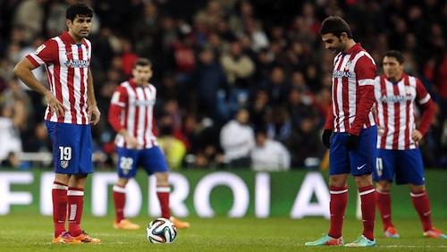 Atletico Madrid's dream season ends in heartbreaking fashion