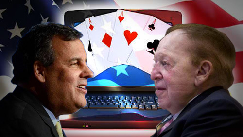iGaming Developments - Chris Christie and Sheldon Adelson