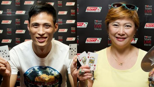 The Two Liu's Triumph at the PokerStars.net APPT Macau