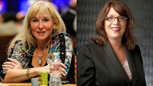 The Women in Poker Hall of Fame Welcome Allyn Jaffrey Shulman and Deborah Giardina