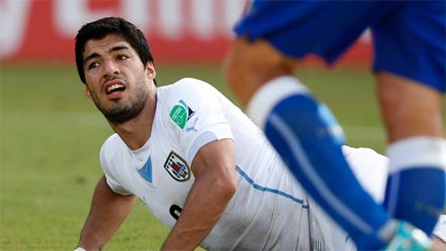 Bettors cash in on Luis Suarez's Bite-a-Palooza