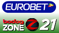 Eurobet go mobile with Evolution Gaming; Bodog's Zone21 blackjack for the masses