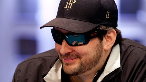 Watching Phil Hellmuth, The Silver-Haired Dude and the Ghost Play Razz