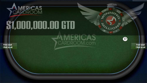 America's Cardroom to Host $1m Guaranteed Tournament