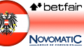 Betfair pulls exchange from Austria; two Austria casino licenses for Novomatic