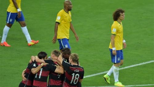 German's 7-1 thrashing of Brazil causes losses for UK books