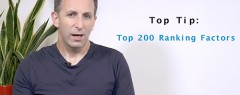 SEO Tip of the week: 200 Ranking Factors