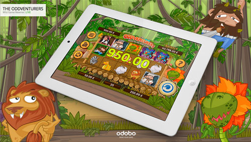 Odobo Game Studio Launches The Oddventurers - Its First HTML5 Slot