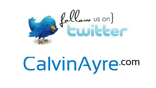 Weekly Poll – Do you Follow @CalvinAyreNews on Twitter?