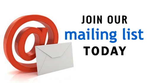 Weekly Poll – Have you subscribed to our mailing list?