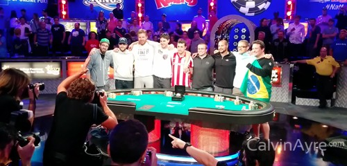 WSOP 2014 - Main Event Day Seven Summary