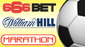 Footie partners for 666Bet, Marathonbet and Hills; Boylesports goes to the dogs